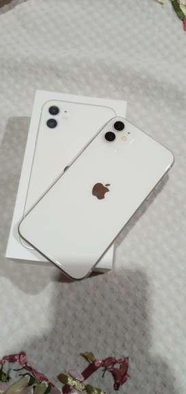 Iphone 11 blanco de 128 gb