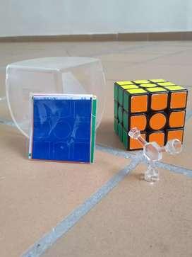 Cubo Gan 3*3 juego didáctico, cubo de Rubik original para todas las edades