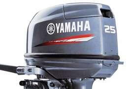 motor yamaha 25 hp 2 tiempos pata corta nuevo okm