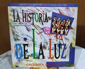 Long Play Lps Acetato Pasta Vinilo Vinyl Orquesta De La Luz