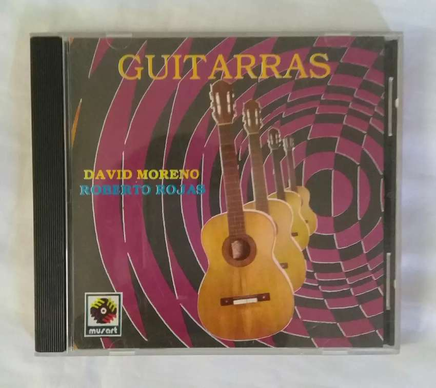 David moreno roberto rojas guitarras flamencas cd original