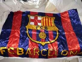 Vendo bandera del FC barcelona, precio discutible