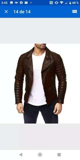 Jacket casaca retro moto importada size M