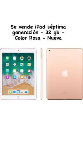IPAD 7ma Generación 32gb color GOlD (Sellada+Garantía)