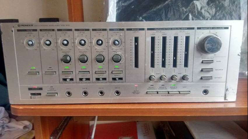 pioneer multimixing amplifier MA - 100 0