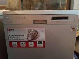 Lavavajillas LG D1452 Acero Inverter 14 Cubiertos Outlet