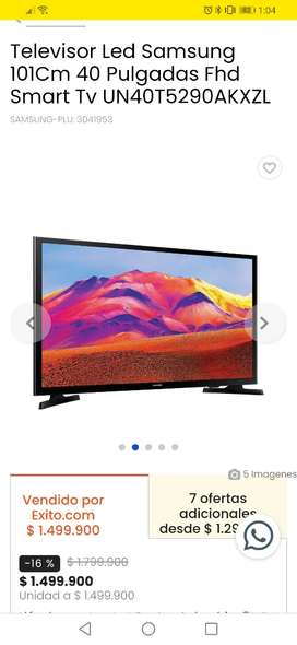 Se vende tv samsung 40 . Smart tv. NUEVO