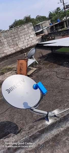 Instalacion de antenas satelitales traslados y servicio tecnico venta de repuestos