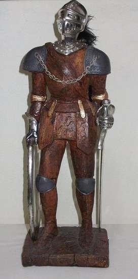Caballero Medieval - Artesanía Belga De Colección