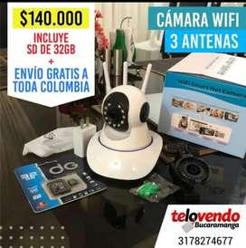 Cámara WiFi robótica v380 pro