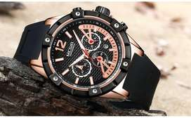 Reloj Sport Megir 2019 Tipo Guess Fossil Tissot Tommy Bulova