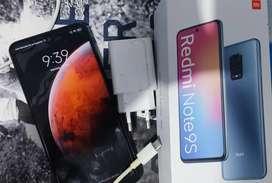 Xiaomi redmi.note 9 S 6gb de ram 128gb de memoria en caja con cargador