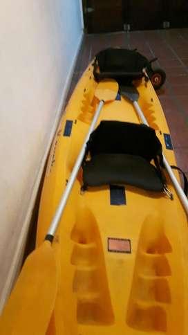 Kayak Doble Importado Completo