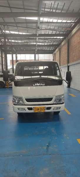 Vendo camión doble cabina de 3.8toneladas marca jmc, modelo 2015