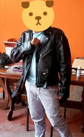 casaca de cuero   Rockera