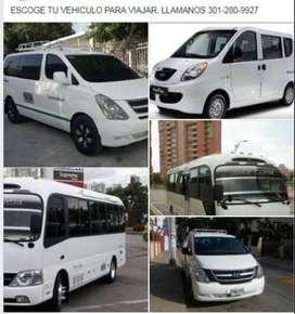 transporte privado a nivel local, regional