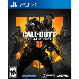 Vendo COD Black ops 4 PS4