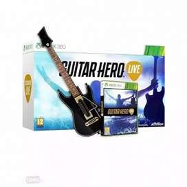 Guitar hero incluye juego + guitarra