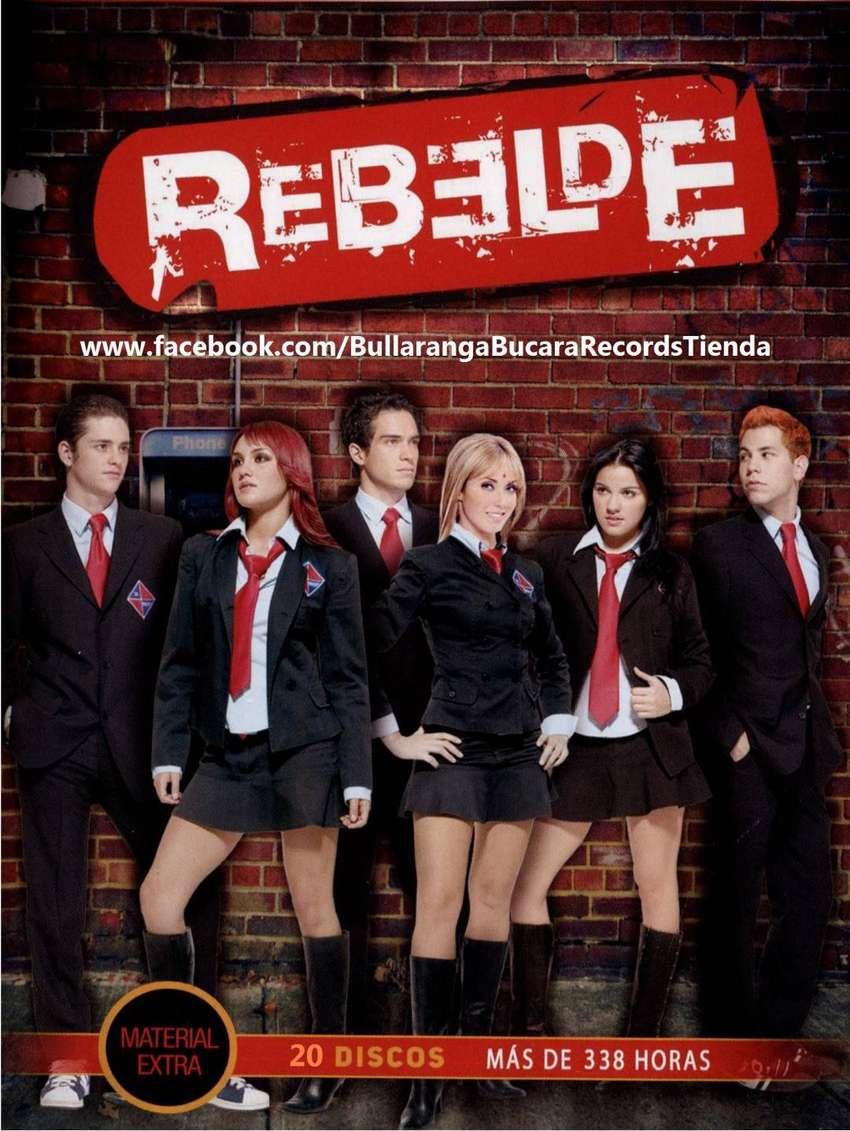 Rebelde RBD (2004) Serie Completa + La Familia ENVÍO INCLUIDO