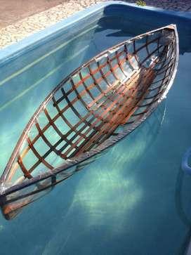 VENDO O PERMUTO canoas estructura de madera