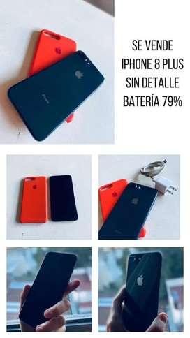 Vendo Iphone 8 Plus - Batería 79% - 64Gb