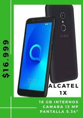 Vendo Alcatel 1X nuevos. Libres de fabrica