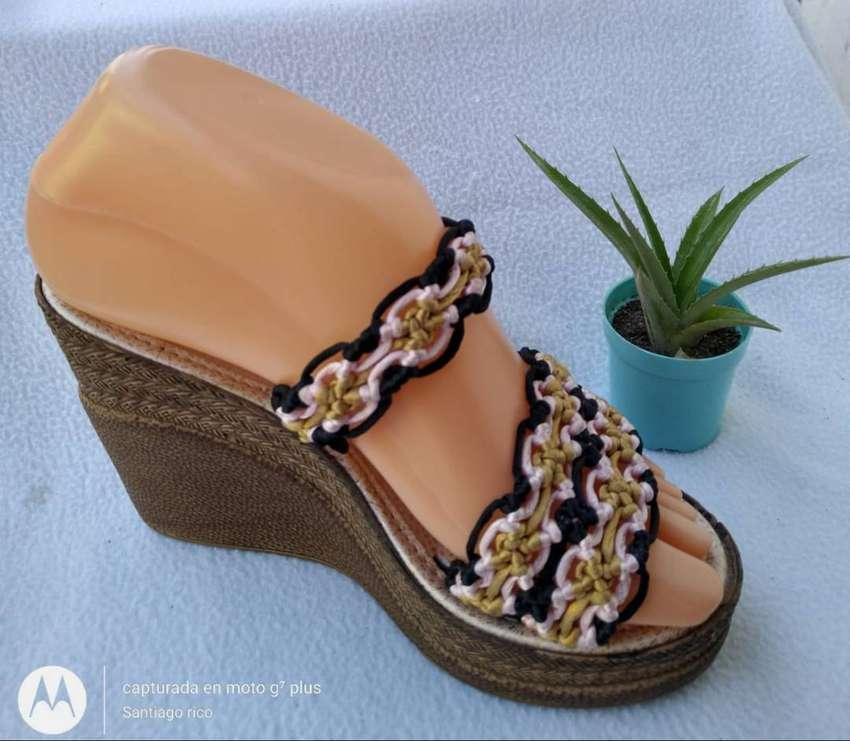 sandalias artesanales 0