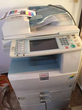 Se vende fotocopiadora Ricoh MP 2550 color