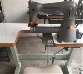 Carteras de cuero y más con Máquina de coser cañón