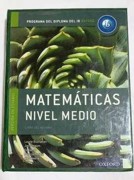 Libro Matematicas Nivel Medio Bi Oxford