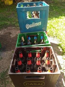 Cajones de Cerveza con Envases de 1 Litr