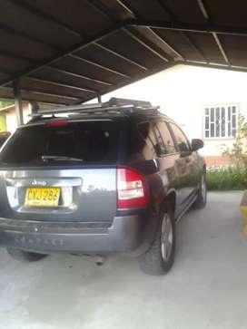 vendo camioneta  jeep compass  2007