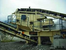 Zarandas y equipos para mineria