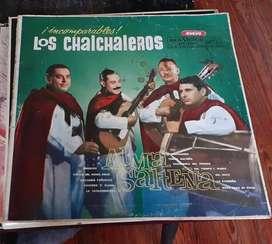Long Play 33 rpm  vinilo Los Chalchaleros Alma Salteña