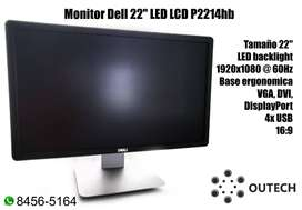 "Monitor Dell 22"" LED LCD P2214hb"