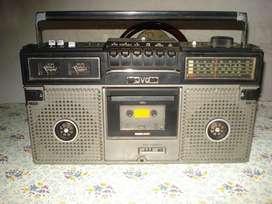 Radiograbador Jvc Bombox De Los 80s Rc717l Funcionando!!