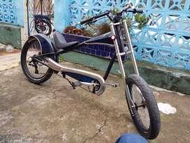 Bicicleta tipo chopper Giant Stiletto clasica