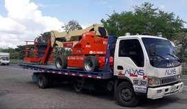 Servicio de grua planchon para vehiculo y maquinaria