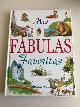 Mis Fábulas Favoritas Editorial El Ateneo. Impecable. Hermoso Libro