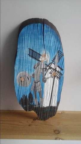 Quijote de la mancha pintura