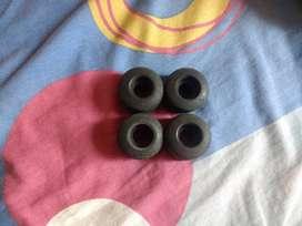 Ruedas Skate de Goma (usadas)