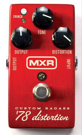 Mxr Classic 78 Como Nuevo