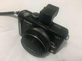 Camara Panasonic Gf1 Con Lente 20mm + Visor Original