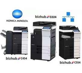 Alquiler Renta Impresoras Outsourcing De Impresoras Copiadoras Konica Minolta Ricoh