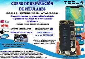 cursos de reparación de celulares