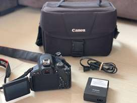 Camara canom eos rebel t5i + lente