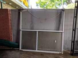 Puerta corrediza aluminio