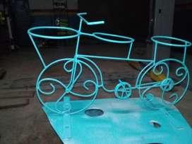 Bicicleta Y Triciclo de Jardín