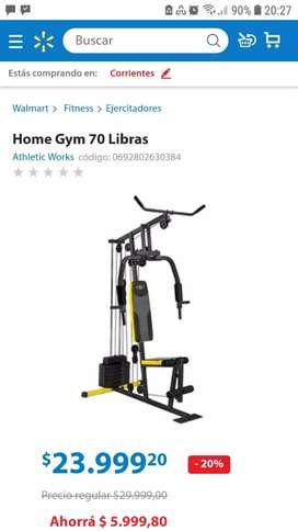Remato Multi Gym Nuevo X Mudanza