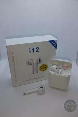 TWS i12 tipo AirPods Audífonos Bluetooth